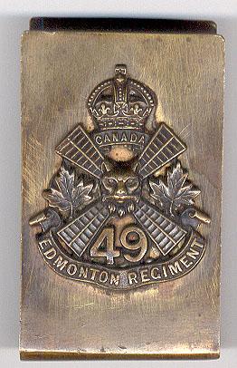 49th Battalion C.E.F.  Trench Art Ww1_ca10