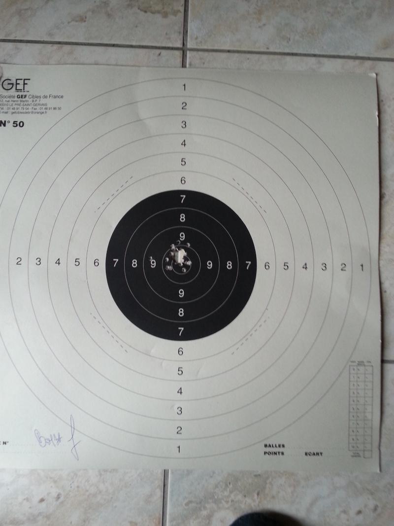 Quelles sont vos distances de tir et grouping avec une 22lr ? 20150410