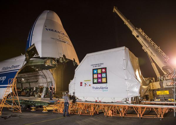 Lancement Ariane 5 ECA VA224 / Star One C4 + MSG4 - 15 juillet 2015  Cdwqlu10