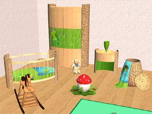 Комнаты для младенцев и тодлеров - Страница 3 Image249