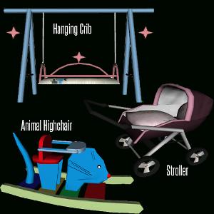 Различные объекты для детей - Страница 6 Image292