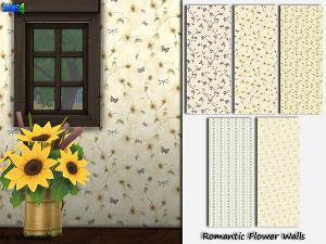 Обои, полы (цветочные узоры) Image375