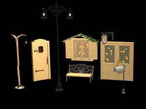 Дворовые объекты, строительный декор - Страница 7 Image400
