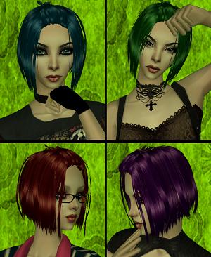 Женские прически (яркие перекраски) - Страница 3 Image430
