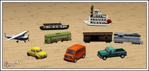Различные объекты для детей - Страница 6 Image437