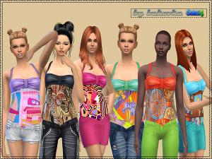 Повседневная одежда (топы, рубашки, свитера) - Страница 5 Image491
