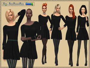 Повседневная одежда (платья, туники) - Страница 4 Image602