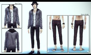 Повседневная одежда (комплекты с брюками, шортами)   - Страница 6 Image714