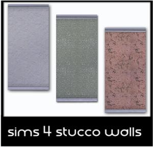 Обои, полы (краска) Sims-410