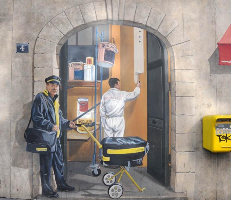 albi - STREET VIEW : les fresques murales en France - Page 17 Facteu10