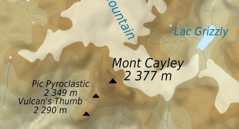 L'arc volcanique des Cascades (sujet participatif) Mc0410