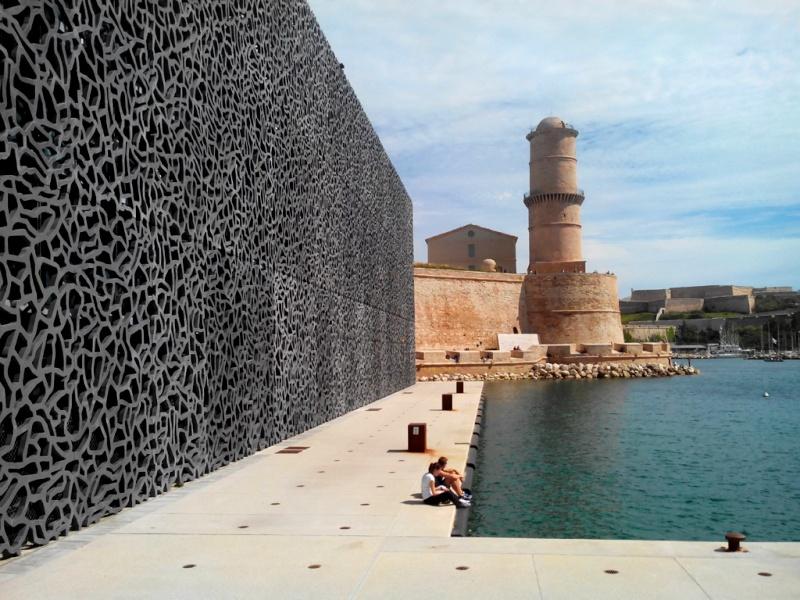 [Désormais visible sur Google-Earth] Le MuCEM - Marseille - France Mucem010