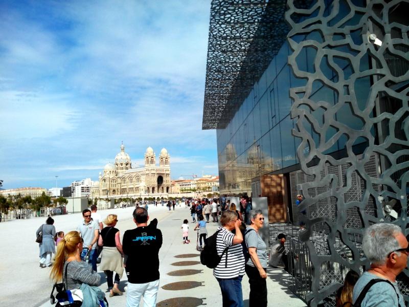 [Désormais visible sur Google-Earth] Le MuCEM - Marseille - France Mucem011