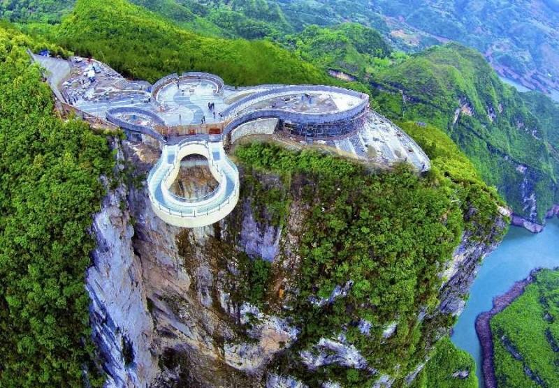Passerelle Yuanduan - province de Chongqing - Chine Yunyan10
