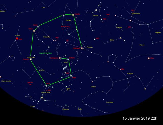 Le ciel de nuit, les étoiles, la lune, le trajet apparent du soleil, à La Réunion Ciel_n10