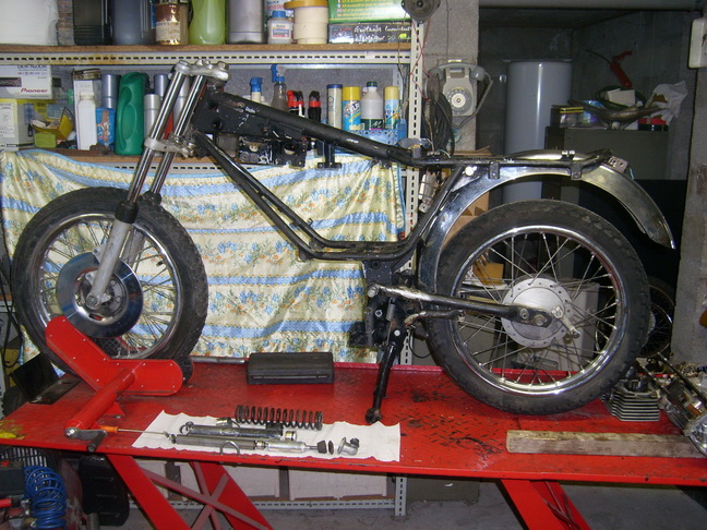 Coupe Tôle Motobecane Sl270710