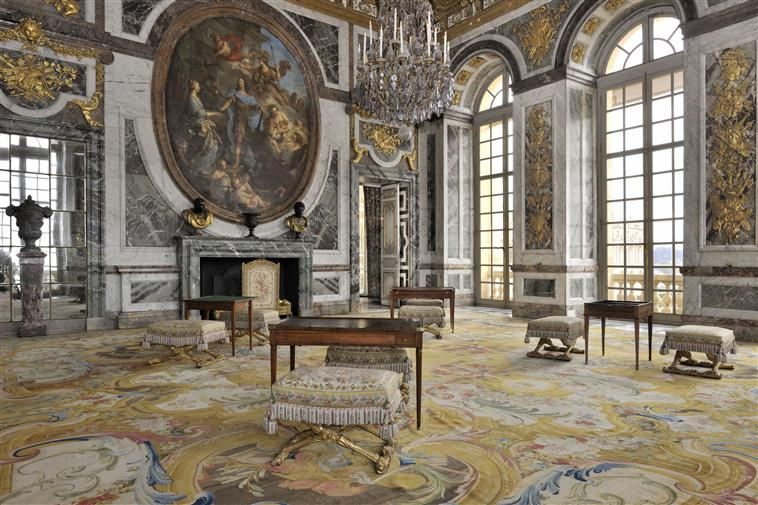 Les appartements et cabinets de Marie-Antoinette à Versailles 13-52718