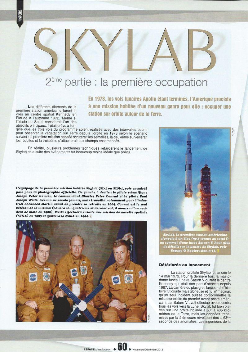 14 mai 1973 - Skylab - Seule station spatiale américaine - Page 2 13110010