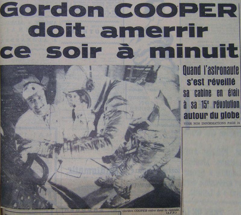 15 mai 1963 - Mercury Atlas  3 - Gordon Cooper 63051710