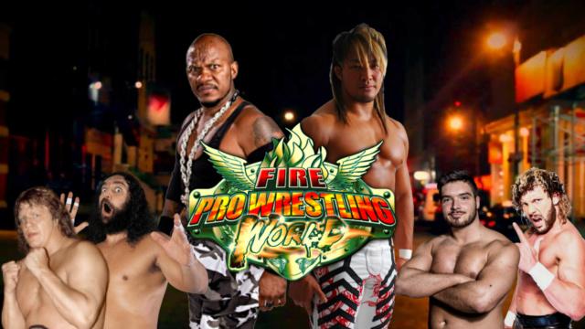 FIRE PRO WORLD #38: TANAHASHI VS. NEW JACK Fpwthu11