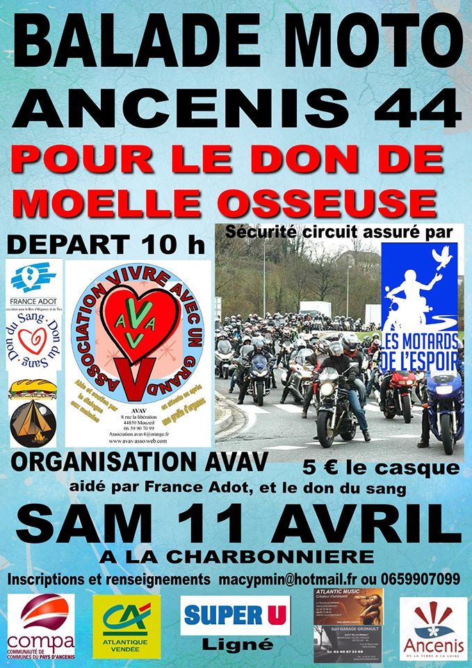 BALADE - moto du 11 avril ANCENIS 10872710