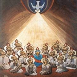 pentêkostề hêméra : Jésus nous envoie l'Esprit Saint Esprit10