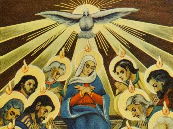 pentêkostề hêméra : Jésus nous envoie l'Esprit Saint Pentec10