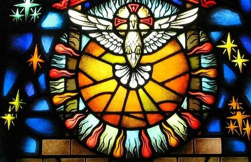 pentêkostề hêméra : Jésus nous envoie l'Esprit Saint Vitrai10