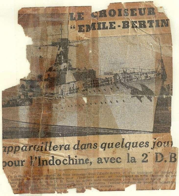 EMILE  BERTIN (Croiseur) Numari38
