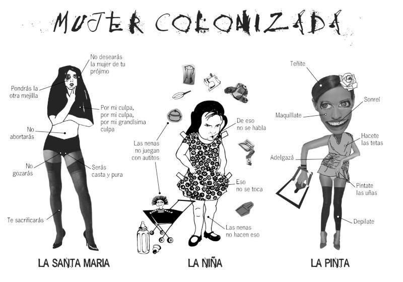 les mouvements féministes en amérique latine Coloni11