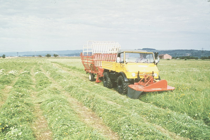 L'unimog en agriculture Unimog14