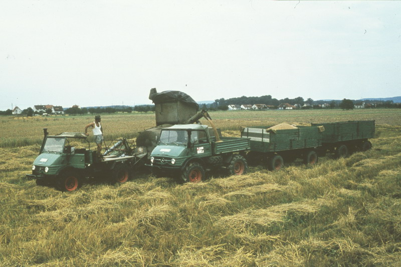 L'unimog en agriculture Unimog17