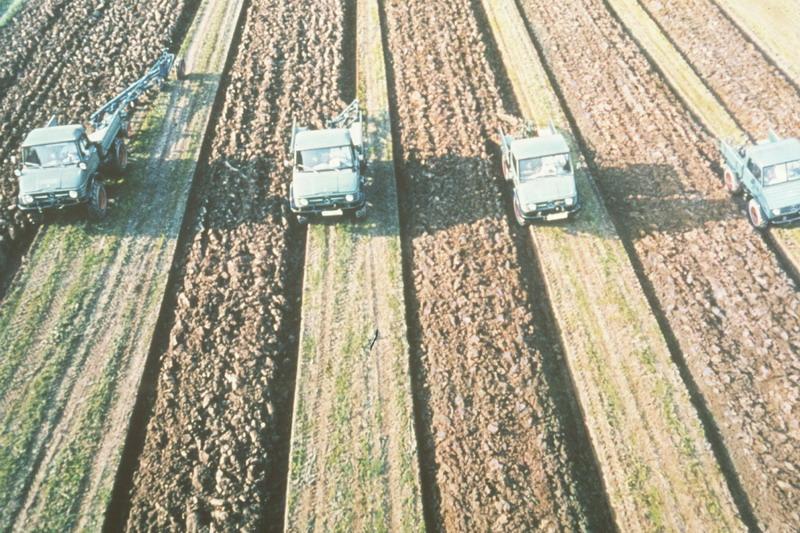 L'unimog en agriculture Unimog18