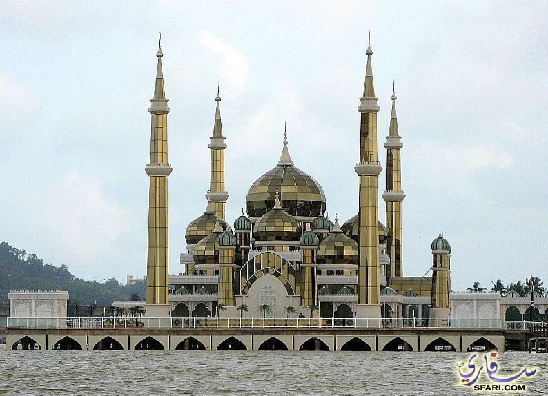 اجمل مساجد العالم المسجد الكرستالي في ترينغانو 111
