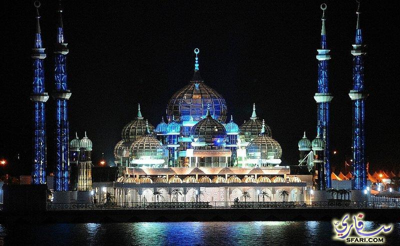 اجمل مساجد العالم المسجد الكرستالي في ترينغانو 310
