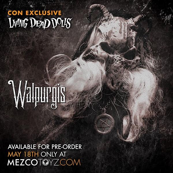 Summer Exclusive Living Dead Dolls Walpurgis Walpur10