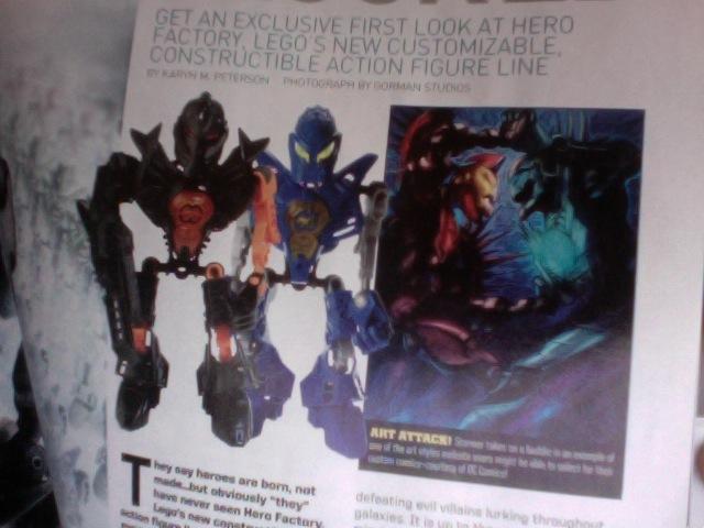 [Produits] Premières images des Hero Factory - Page 13 Hf310