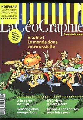 asterix dans le magazine la géographie T563510