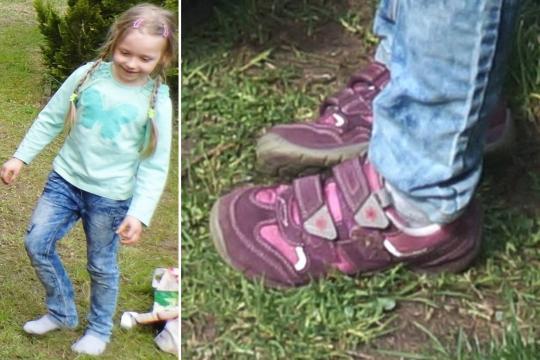 Missing Inga Gehricke, aged 5, is 'Germany's Madeleine McCann' Vvving11