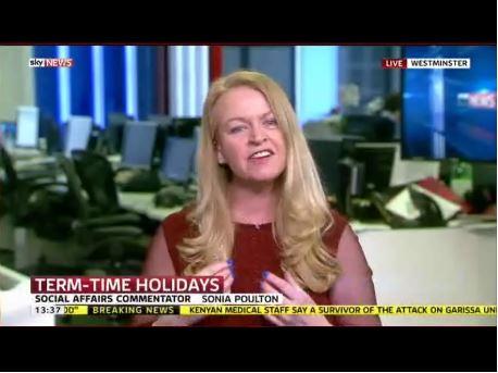 Sonia Poulton on Murdoch's SKY News AGAIN - today (4 April 2015)  Yyyson10