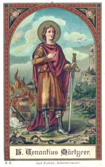 Médaille San-Venancio de Camerino (Italie) - XVIIème 5390010