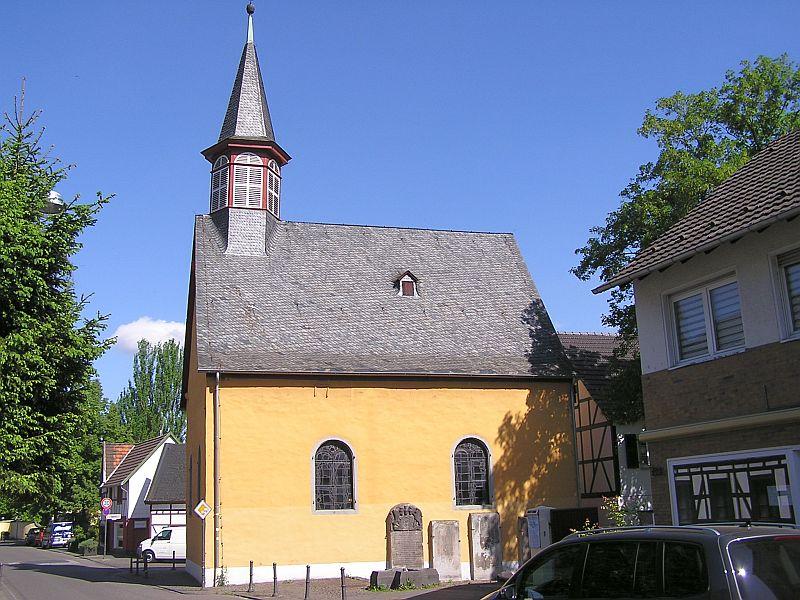 Oberkassel und die Kallboys - Die evangelische Kirche von Oberkassel 111