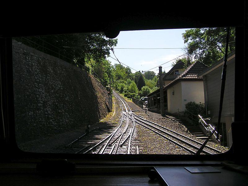 Mit der Zahnradbahn auf den Drachenfels 1410
