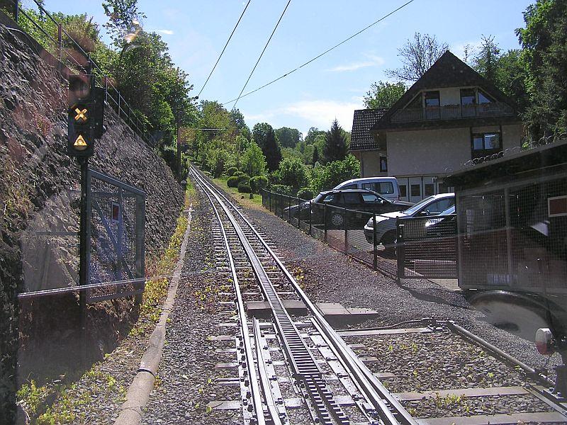Mit der Zahnradbahn auf den Drachenfels 1510