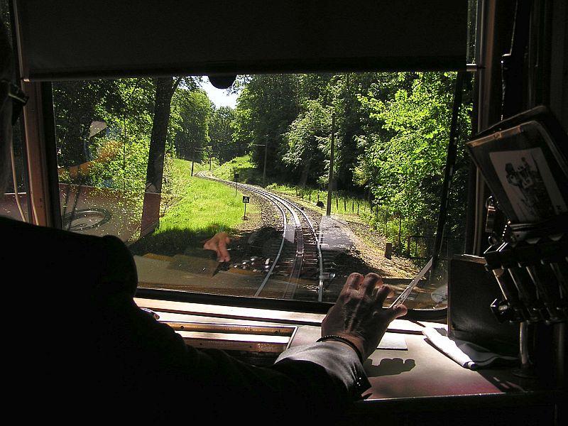 Mit der Zahnradbahn auf den Drachenfels 2010