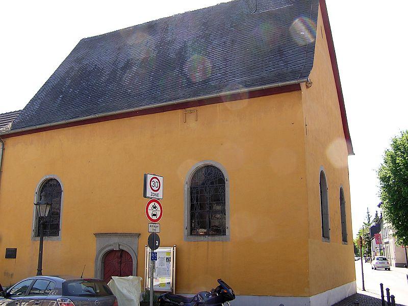 Oberkassel und die Kallboys - Die evangelische Kirche von Oberkassel 311