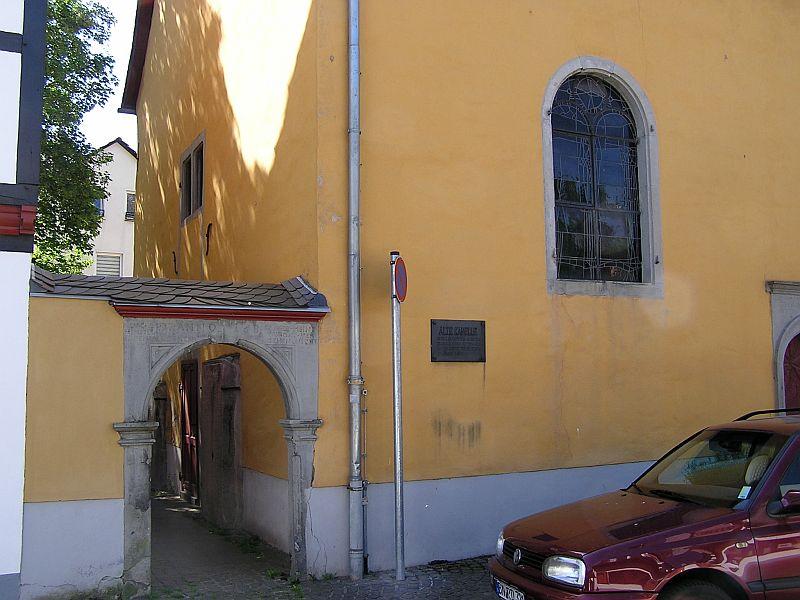 Oberkassel und die Kallboys - Die evangelische Kirche von Oberkassel 411