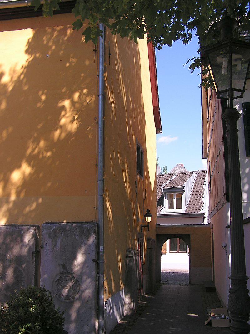 Oberkassel und die Kallboys - Die evangelische Kirche von Oberkassel 4a10