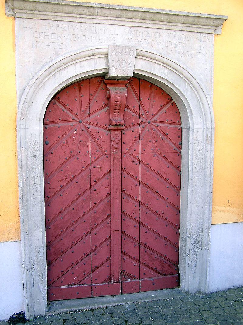 Oberkassel und die Kallboys - Die evangelische Kirche von Oberkassel 710