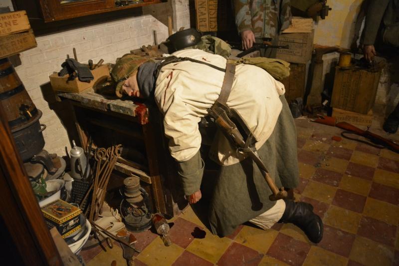 Musée de la 101 st Airborne à Bastogne Combat14